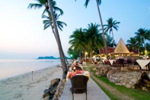 Restaurant, Beach view
