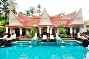Pool villa Access